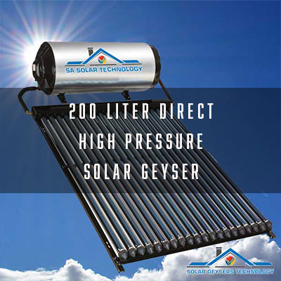 200 Liter Direct Thermosyphon Solar Geyser