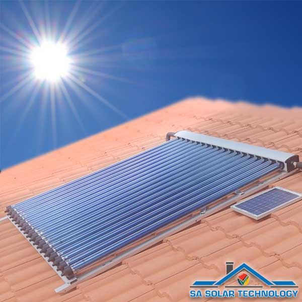 SA Solar Technology 18 Tube Solar Collector