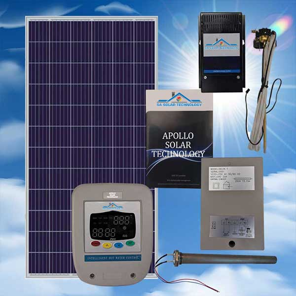 SA Solar Technology 200L PV Hot Water Solar System Kit