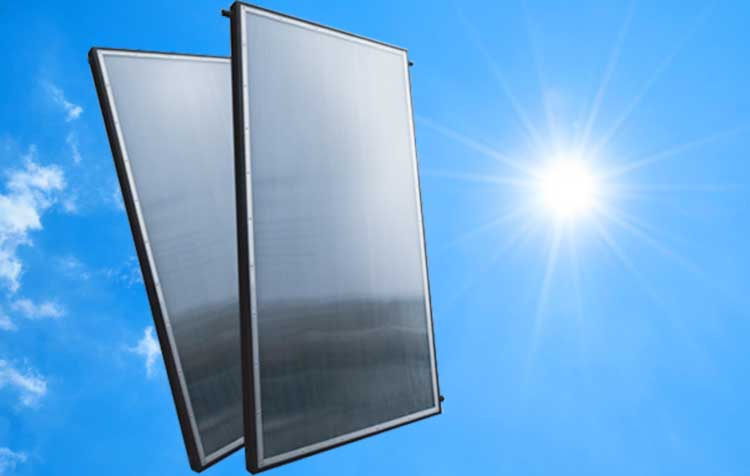 200 Liter Flat- Panel Solar Geyser Conversion